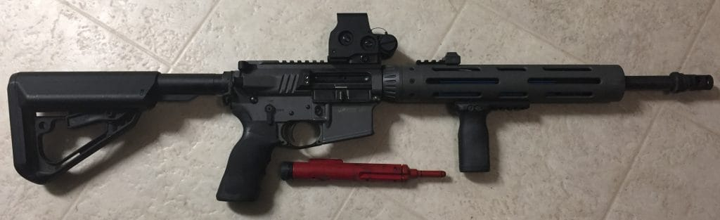 AR Dry Fire With SIRT Bolt